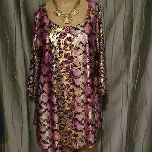Star vixen multicolored blouse